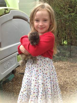 Lily & Pat the silkie