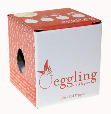 Eggling Crack & Grow - Red Pepper