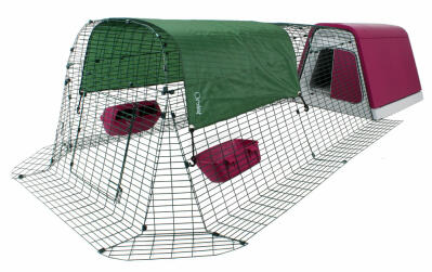 Eglu Go Chicken Coop with 2m Run Package  - Purple
