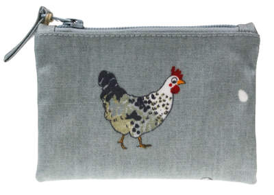 Chicken Oilcloth Purse by Sophie Allport
