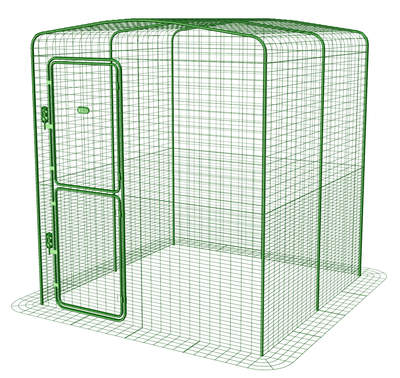 Outdoor Rabbit Run - 2 x 2 x 2
