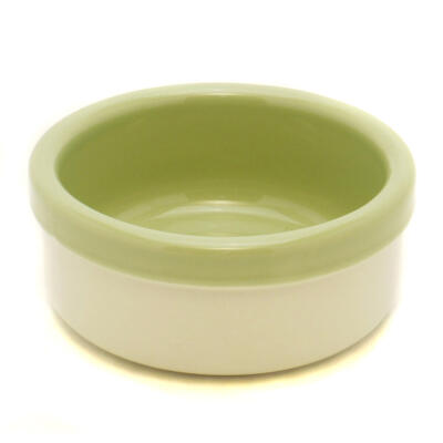 Stoneware Ceramic Two-Tone Bowl 3.5""