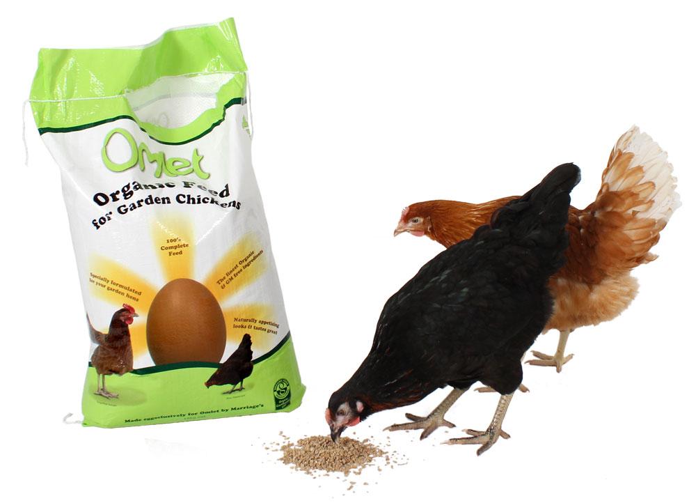 Organic Omlet Chicken Feed 10kg Chicken Feed Treats For Chickens