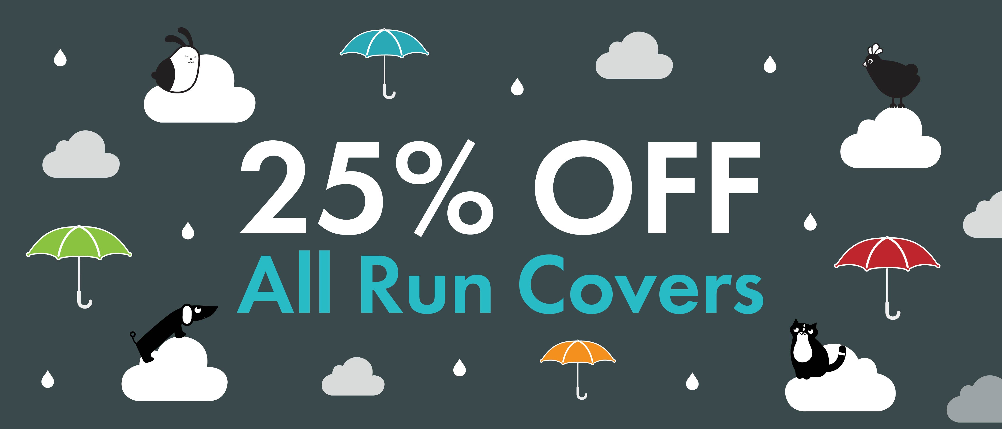 25% OFF all covers banner